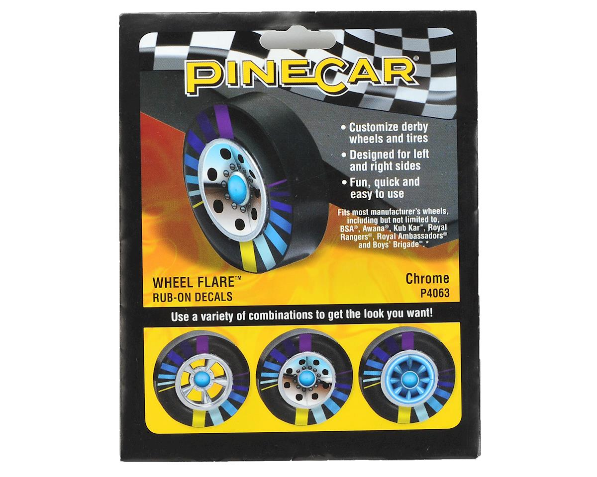 PineCar Wheel Flare Graphics (Chrome)