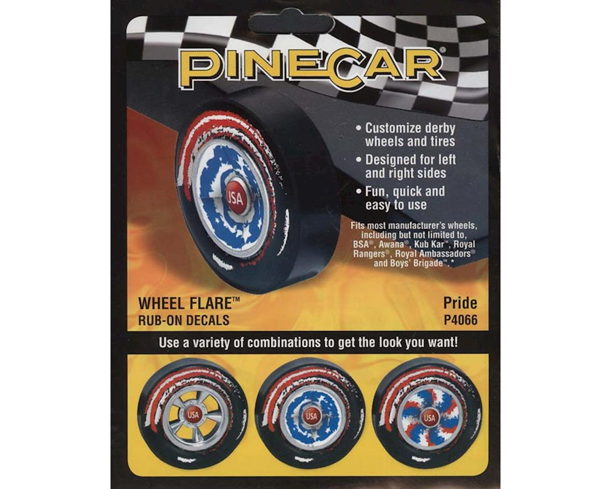 Wheel Flare, Pride by PineCar
