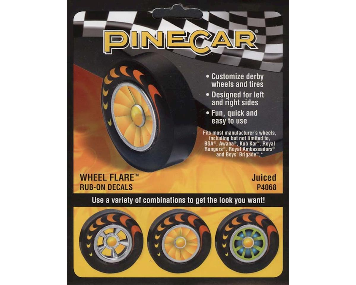 PineCar Wheel Flare, Juiced