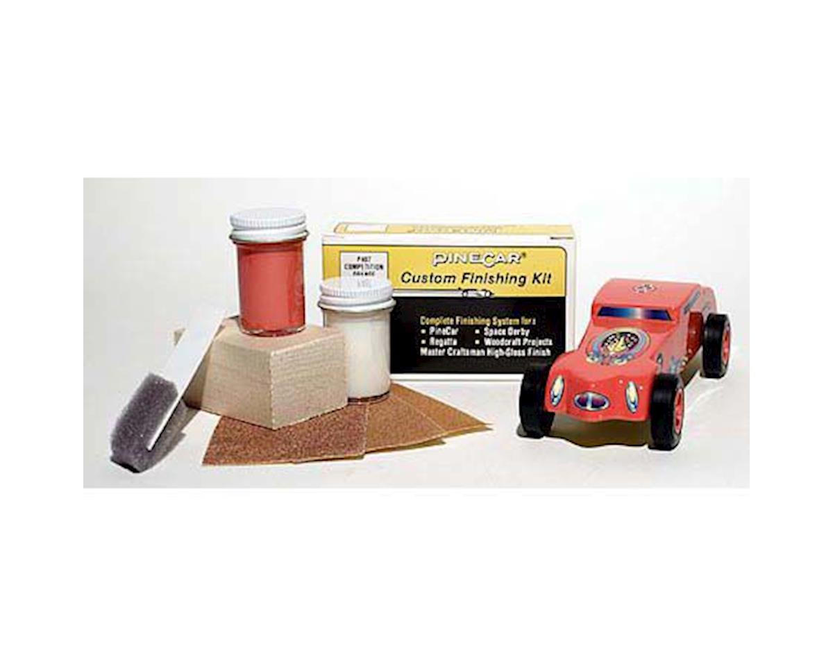 PineCar Finishing Kit,Competition Orange