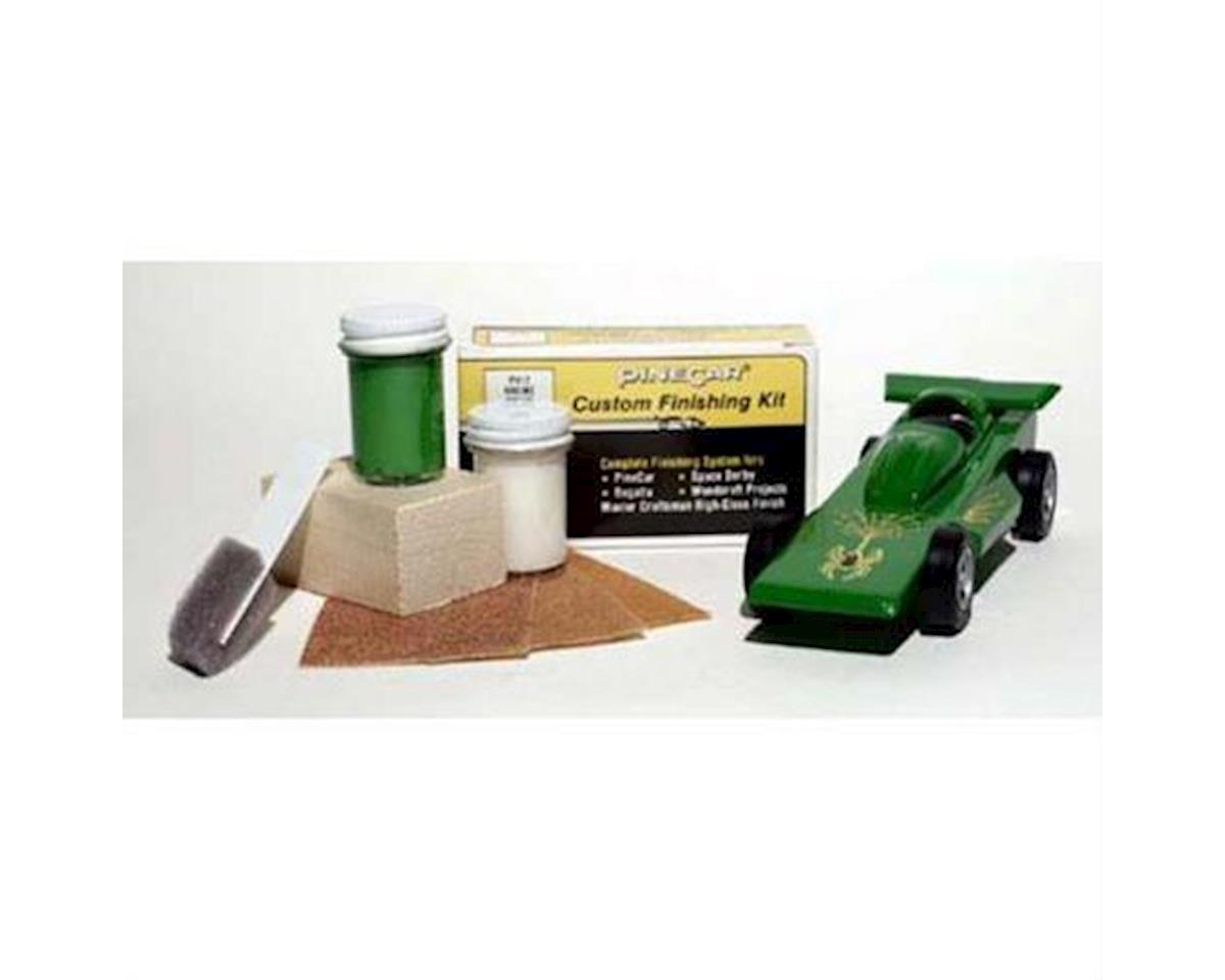 PineCar Finishing Kit,Racing Green