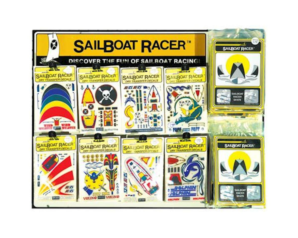 PineCar SR490 Sailboat Assortment (Dropship)