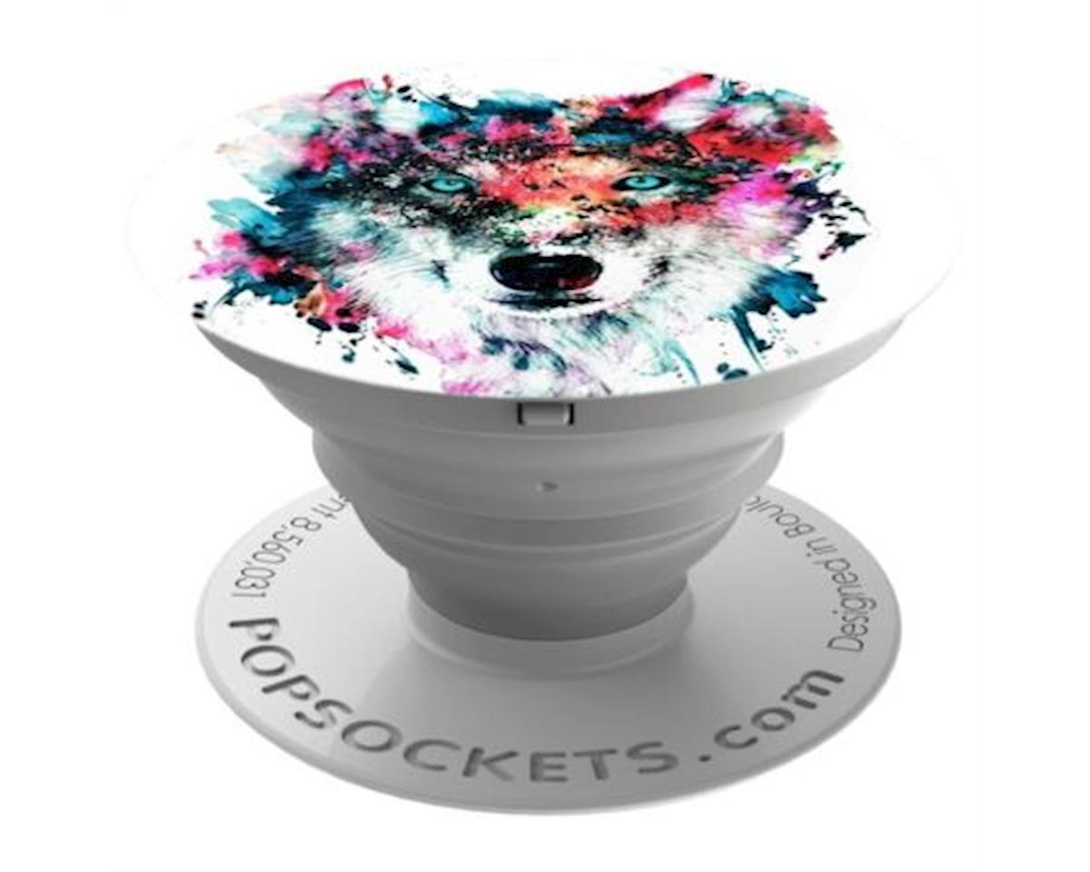 PopSockets: Expanding Grip and Stand for Smartphones and Tablets - Wolf