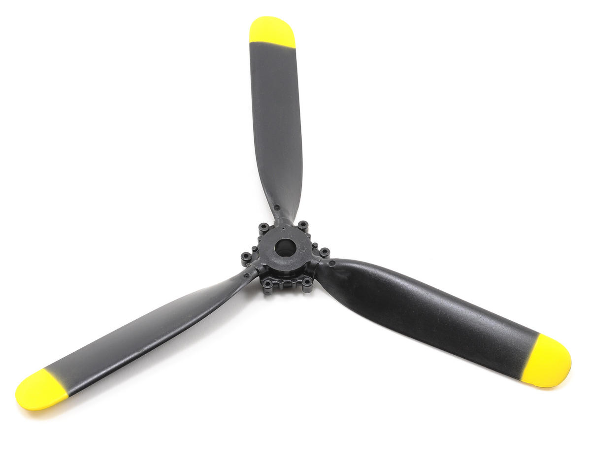9x7.5 3-Blade Propeller (Corsair/T-28) by ParkZone