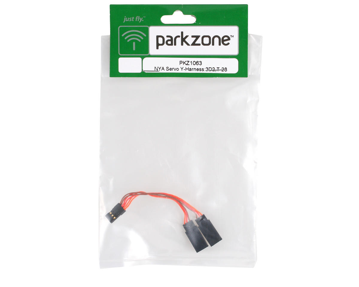 Image 2 for ParkZone Servo Y-Harness