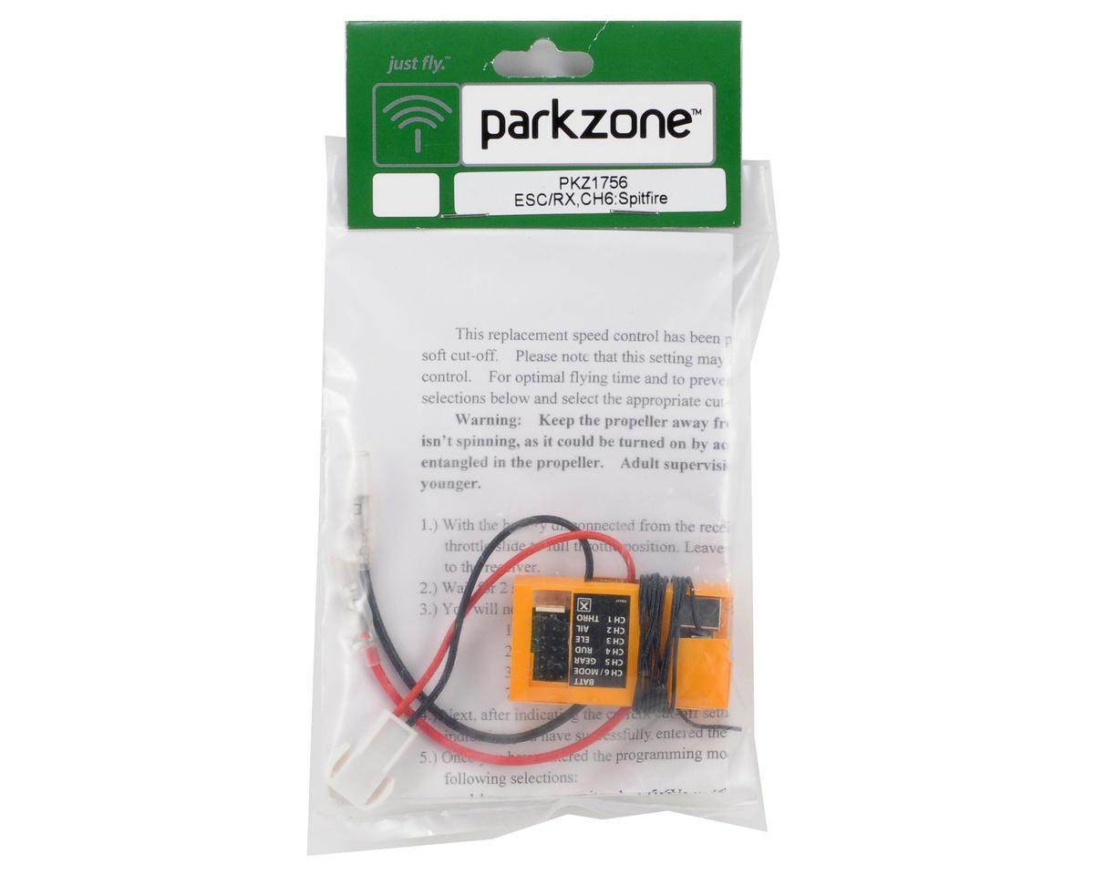 ParkZone ESC/Receiver Channel 6 (Spitfire, J-3 BL)