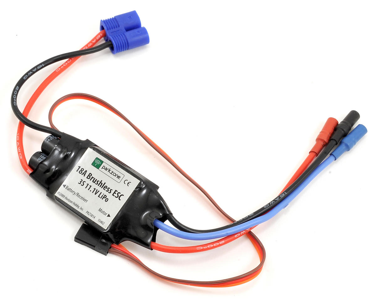 18-Amp Brushless ESC by ParkZone Sport Cub