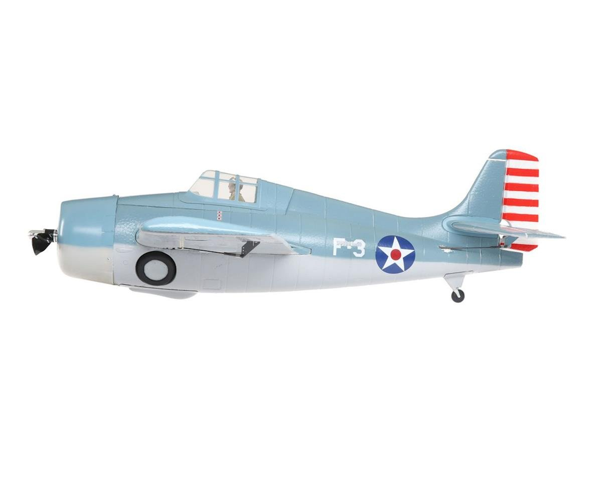 ParkZone F4F Wildcat BNF Basic Electric Airplane (1000mm)