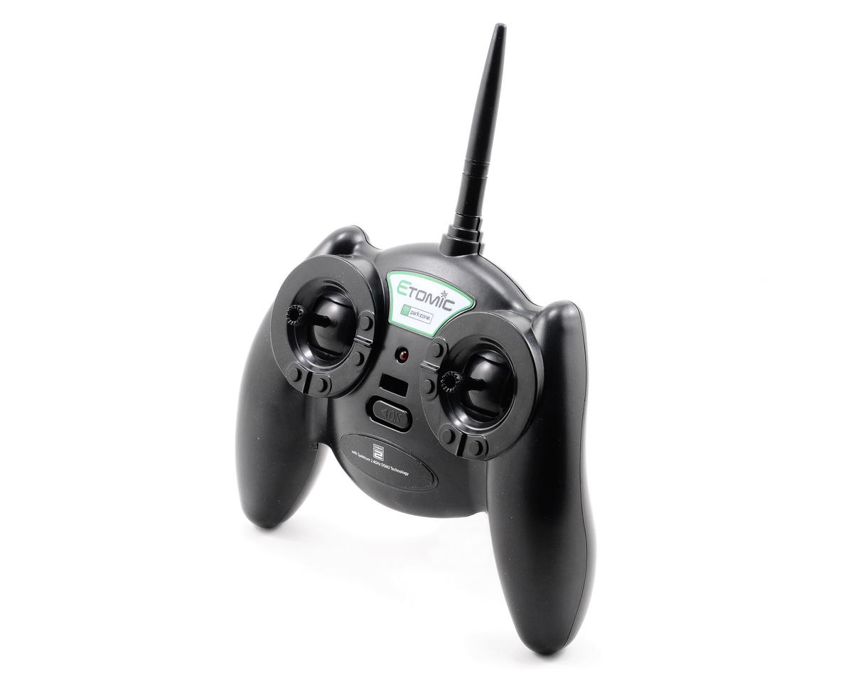 ParkZone Ultra Micro F4U Corsair 2.4GHz 4-Channel Transmitter w/Spektrum DSM2