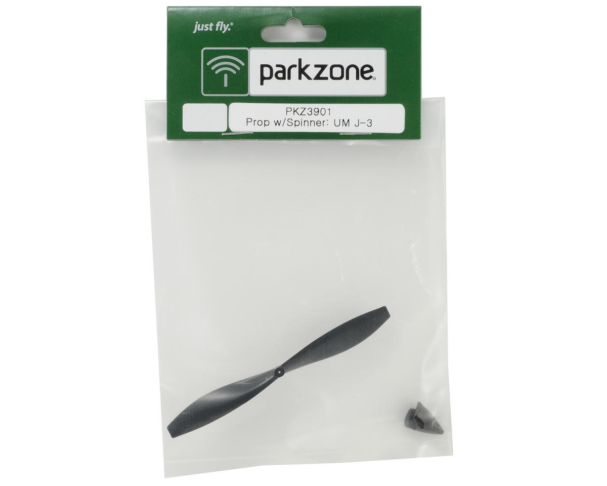 ParkZone Propeller & Spinner Set (Ultra Micro J-3)