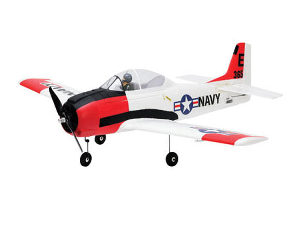 T-28 Trojan Bind-N-Fly Electric Airplane