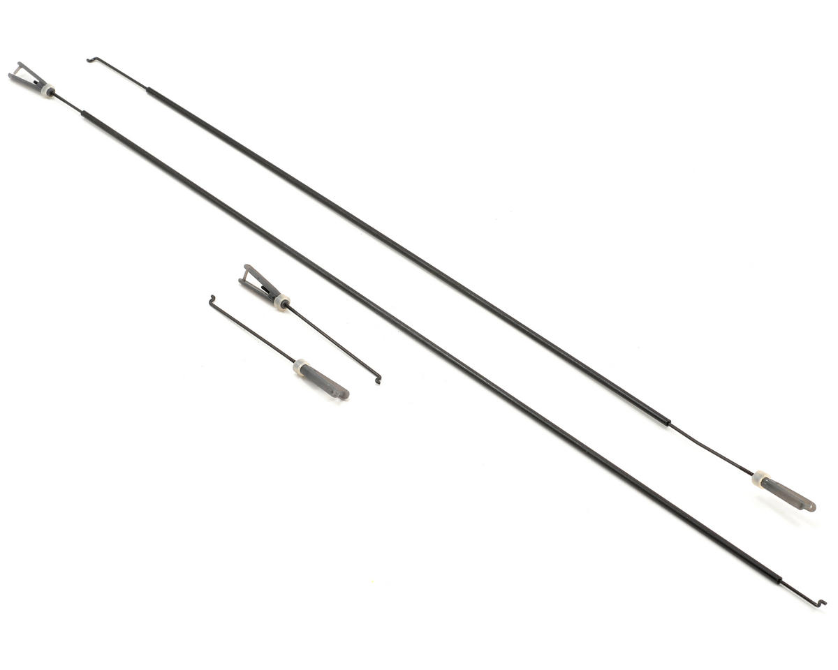 ParkZone Extra 300 Pushrod Set w/Clevis: