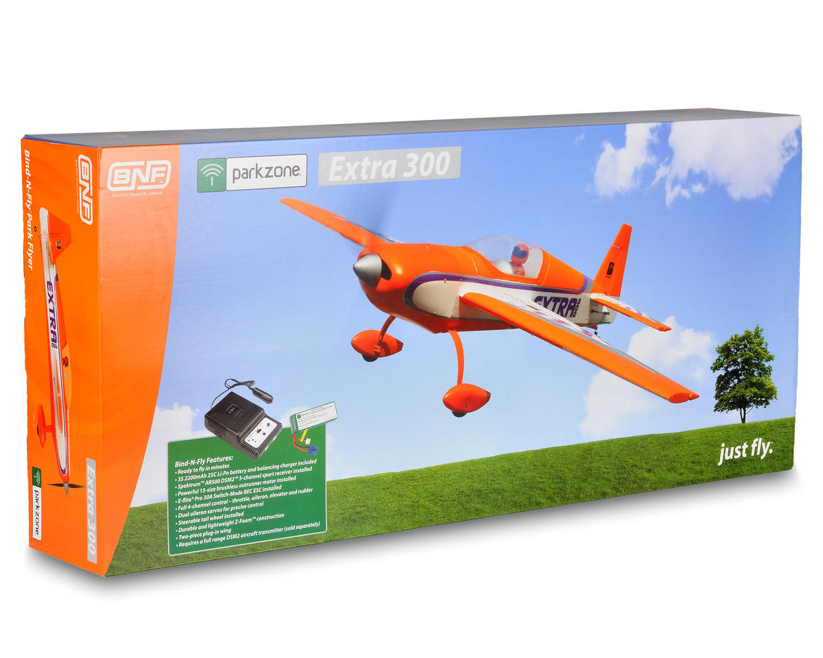 ParkZone Extra 300 Bind-N-Fly Electric 3D Airplane (BNF)