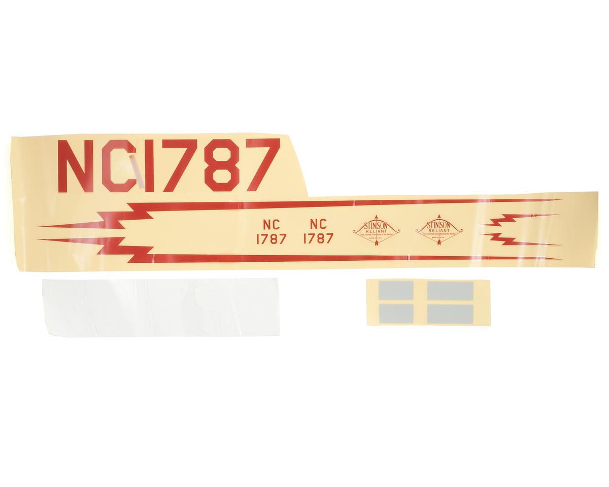 ParkZone SR-10 Decal Sheet
