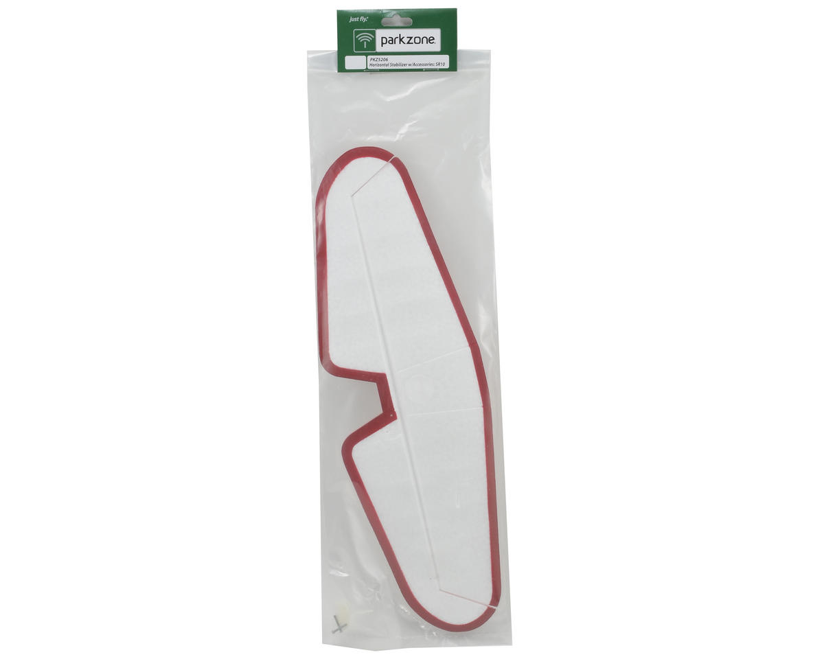 ParkZone Horizontal Stabilizer w/Accessories: SR-10