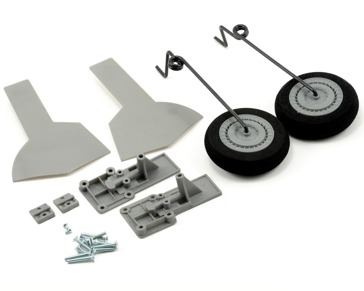 ParkZone P-47D Thunderbolt Main Landing Gear Set w/Mounts