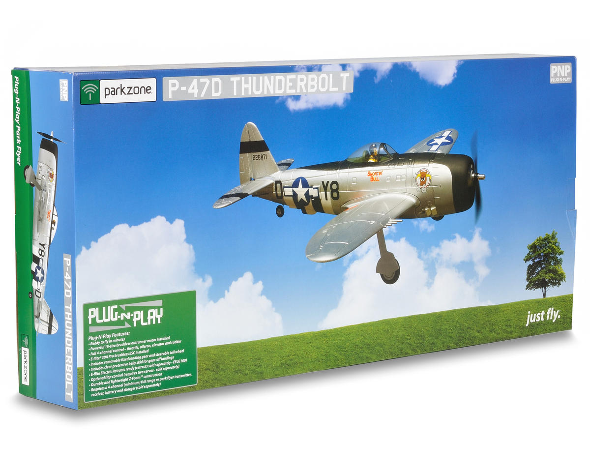ParkZone P-47D Thunderbolt Plug-N-Play