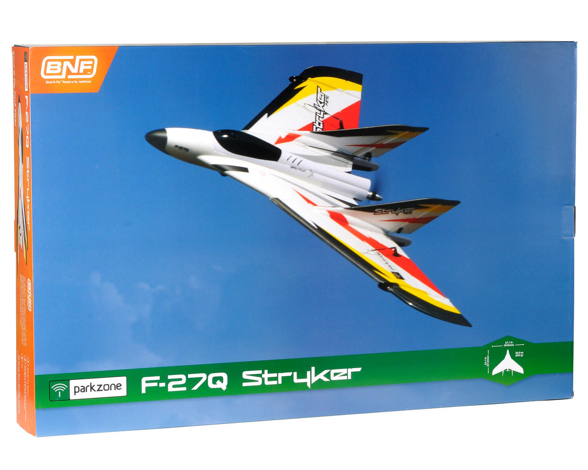 ParkZone F-27Q Stryker Bind-N-Fly Electric Airplane