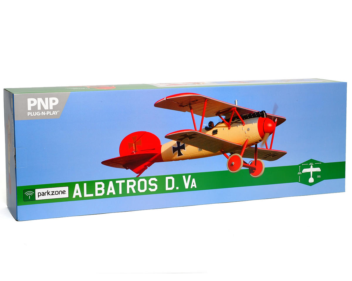 ParkZone Albatros D.Va WWI Plug-N-Play Electric Airplane