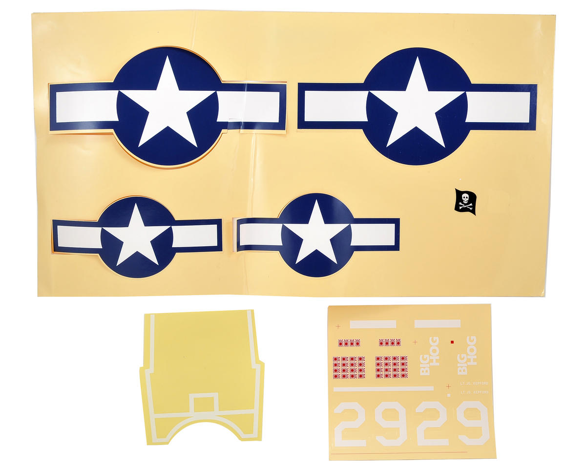 ParkZone F4U-1A Corsair Decal Sheet (F4U-1A)