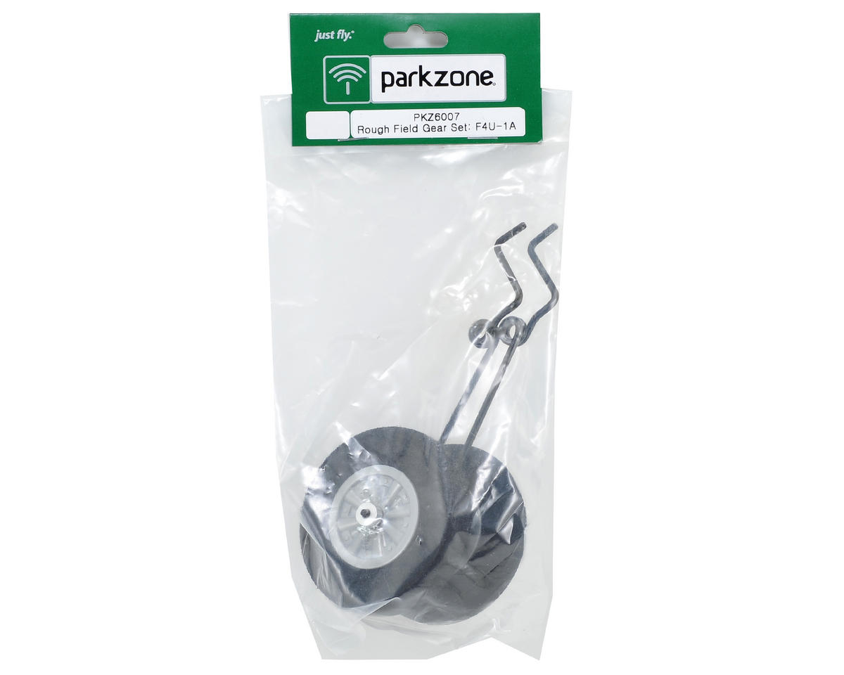 ParkZone Rough Field Landing Gear & Wheel Set (F4U-1A)