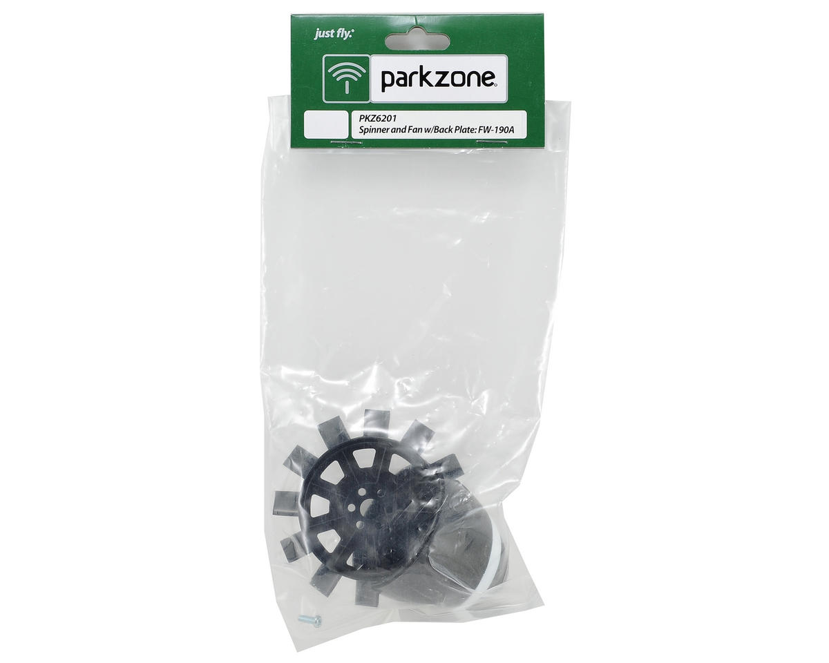 ParkZone Spinner & Back Plate w/Fan
