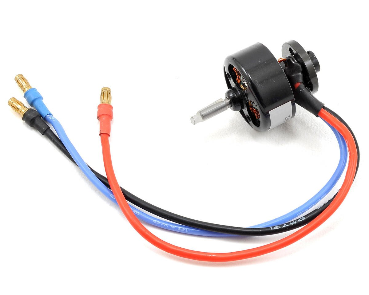 370 Brushless Motor w/3.5mm Bullet Connectors (1300kV)