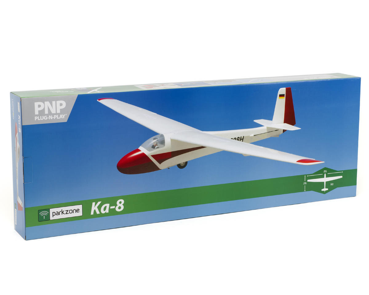 ParkZone Ka-8 Plug-N-Play Electric Sailplane