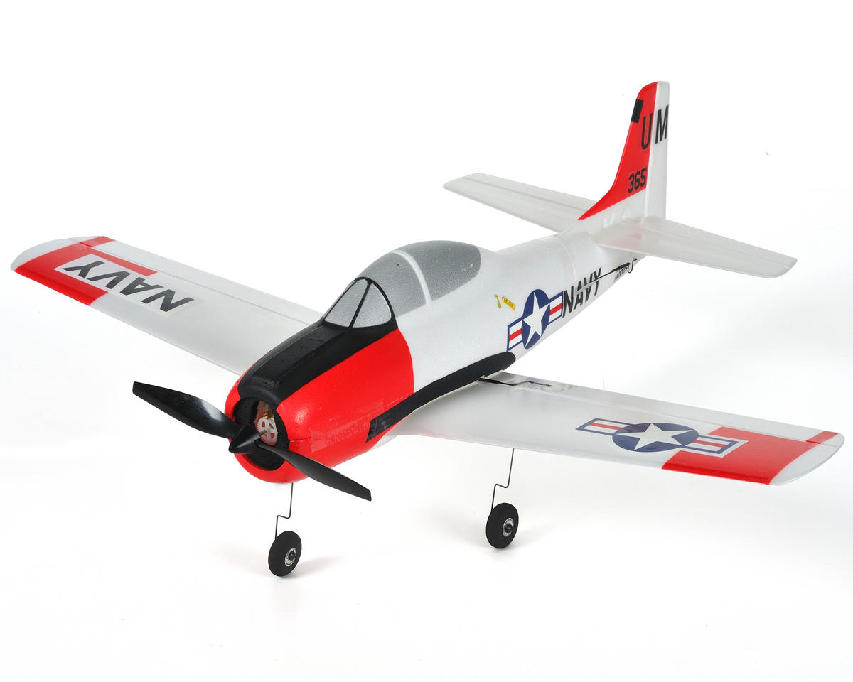 ParkZone Ultra-Micro T-28 Trojan Bind-N-Fly