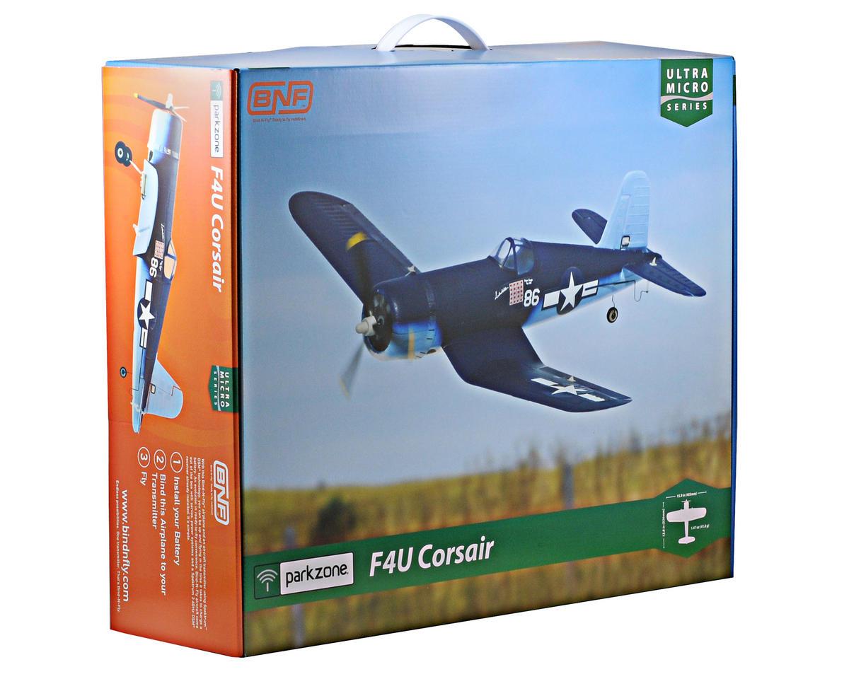 ParkZone Ultra Micro F4U Corsair Bind-N-Fly