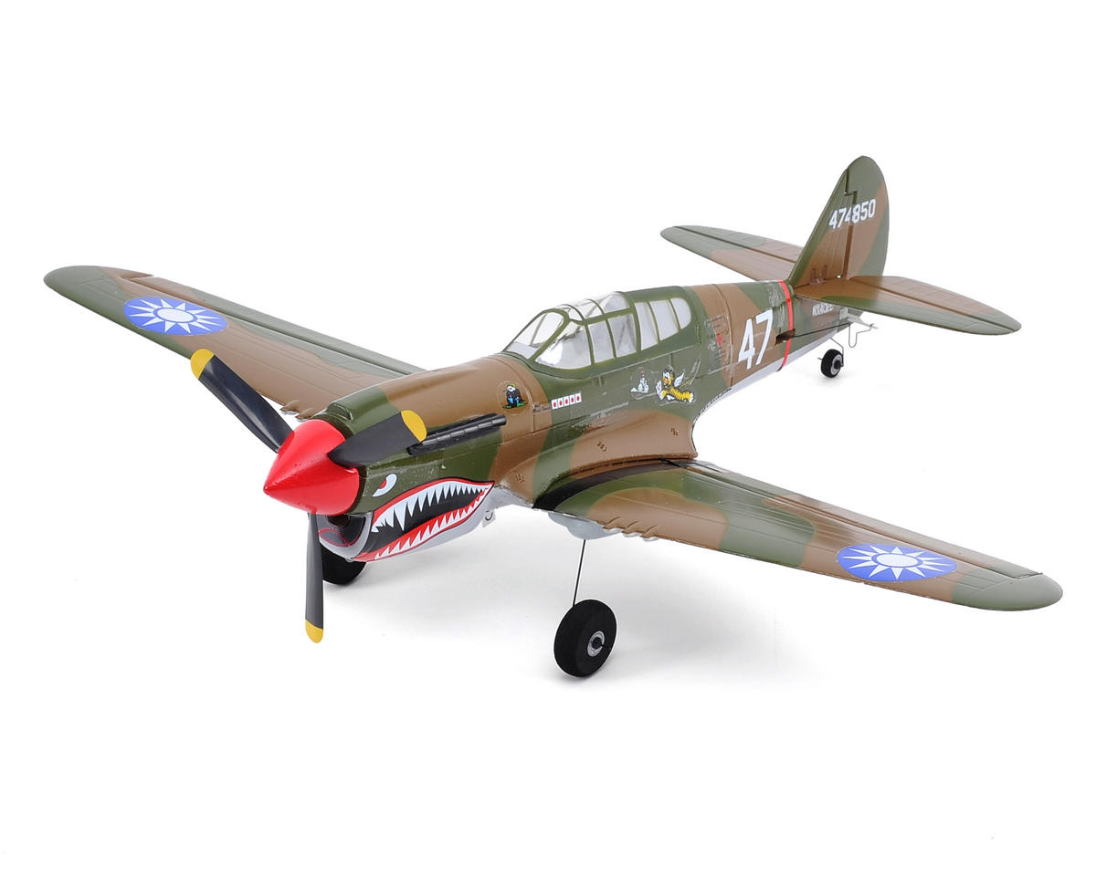 ParkZone Ultra-Micro P-40 Warhawk Bind-N-Fly Electric Airplane