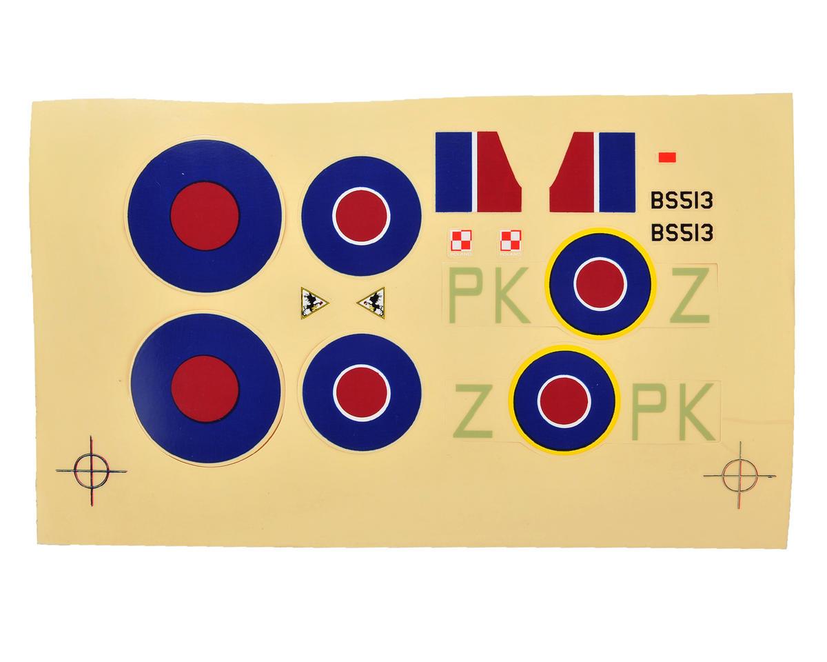 ParkZone UM Spitfire Mk IX Decal Sheet