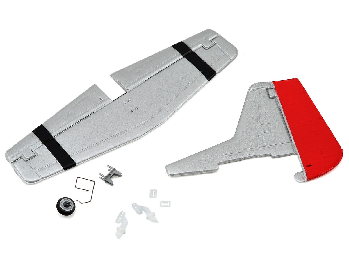 ParkZone Ultra Micro P-51D AS3X Complete Tail w/Accessories