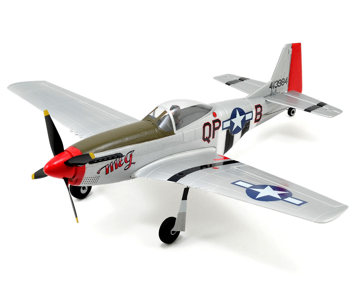 ParkZone Ultra-Micro P-51D Mustang Bind-N-Fly