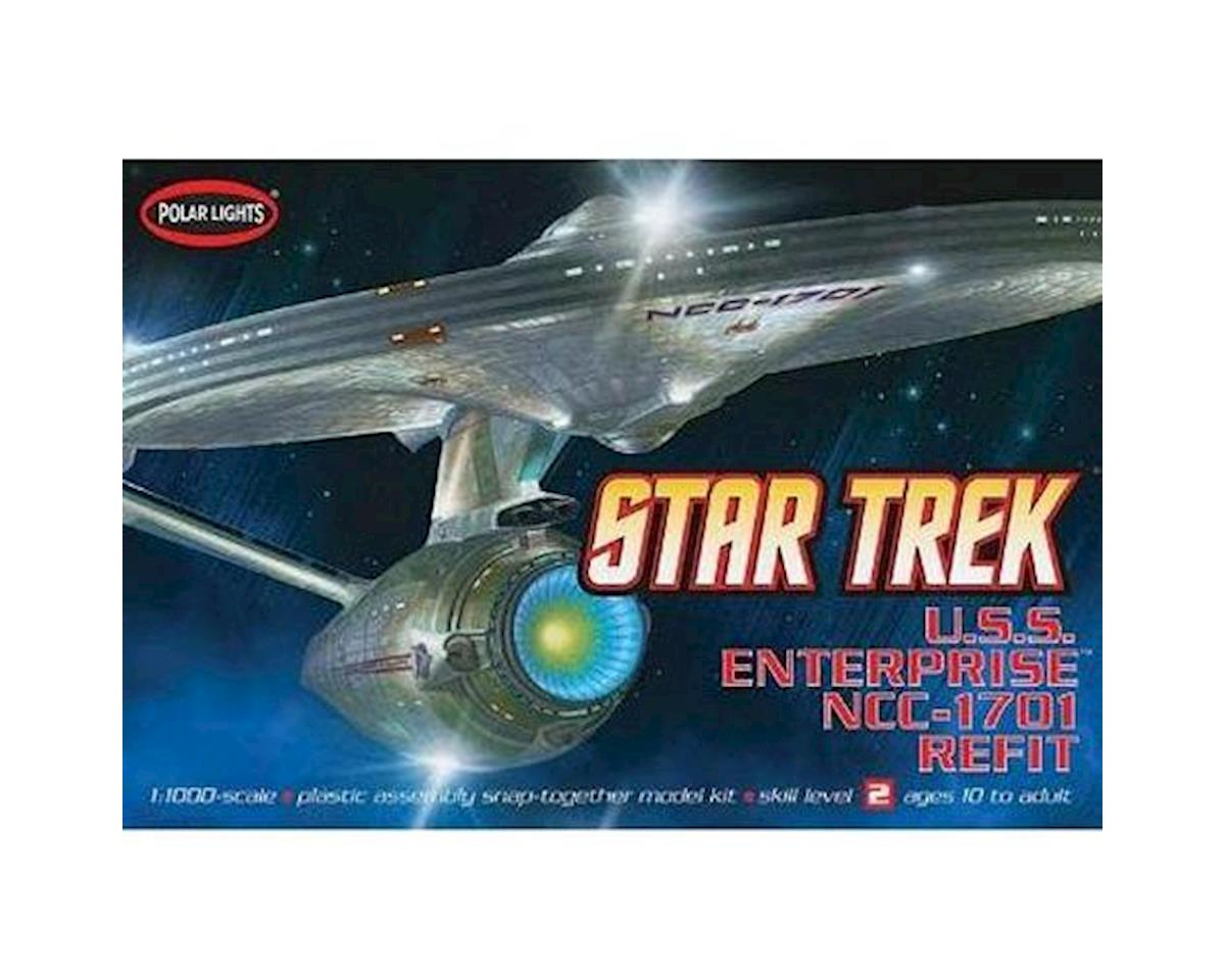 Round 2 Polar Lights 1/1000 USS Enterprise NCC-1701A