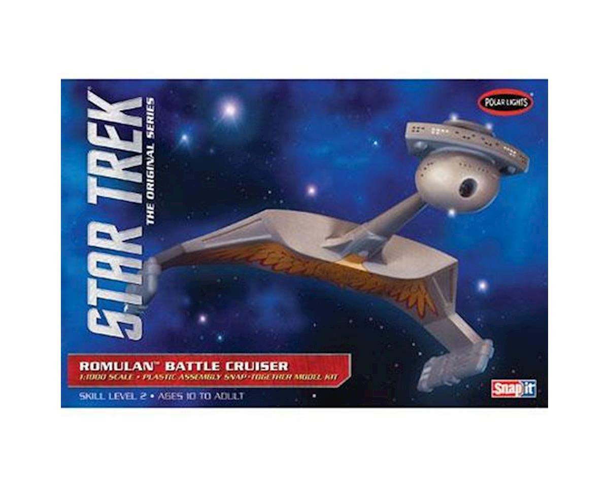 Round 2 Polar Lights 1/1000 Star Trek Romulan Battle Cruiser