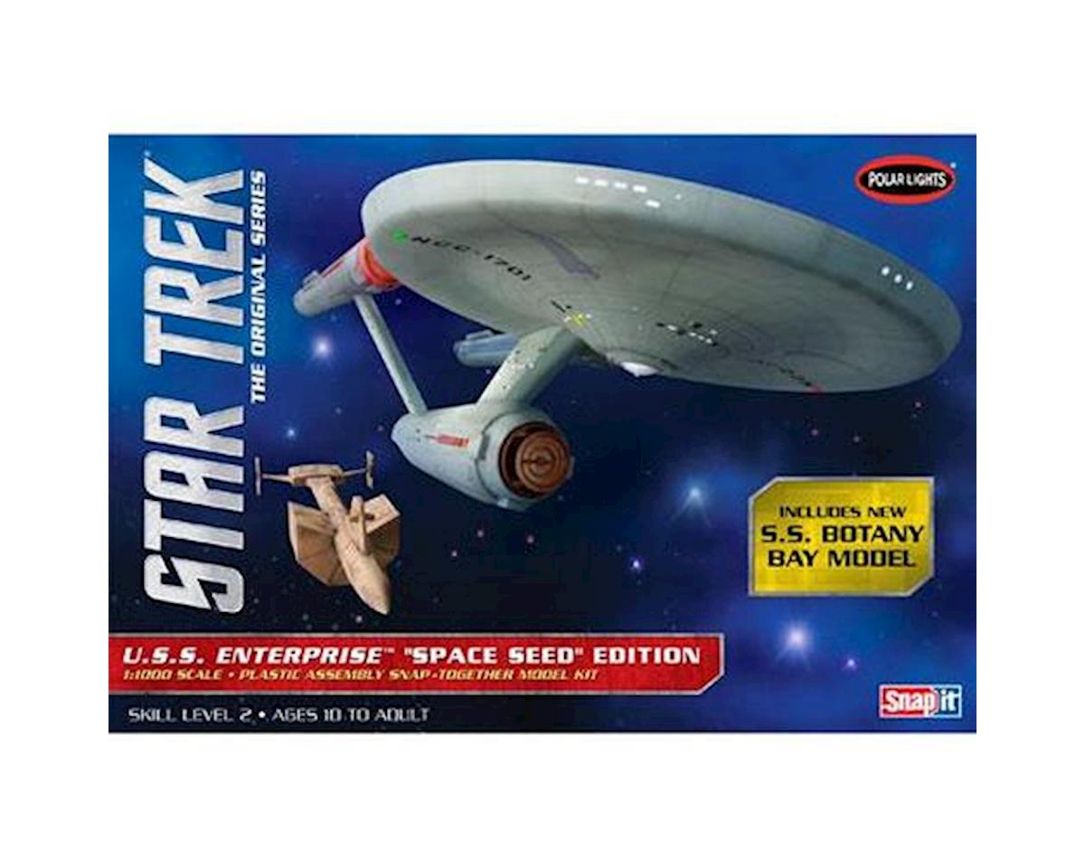 1/1000 Star Trek TOS USS Enterprise Space Seed Ed by Round 2 Polar Lights