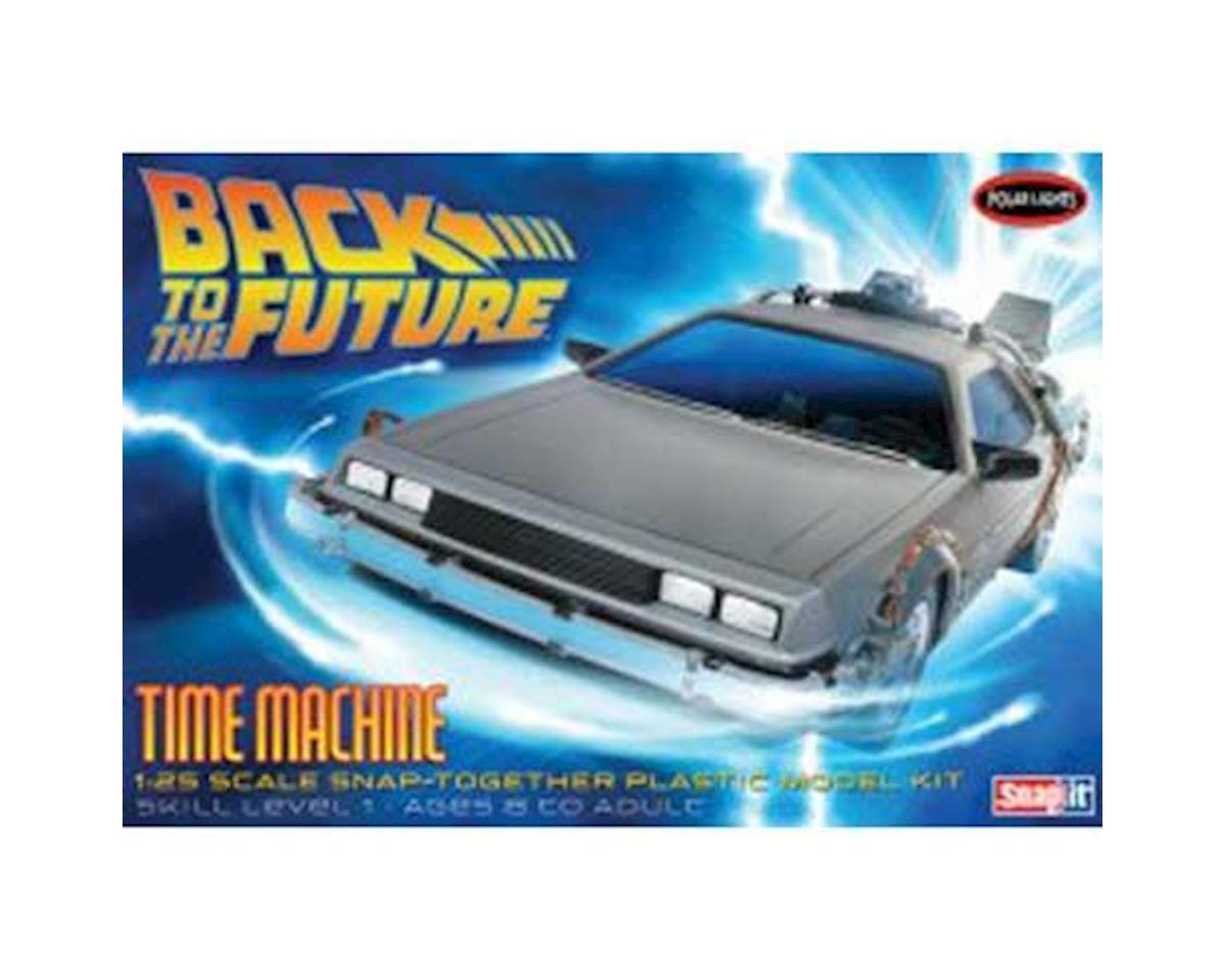 Round 2 Polar Lights 1/25 Back To The Future Time Machine