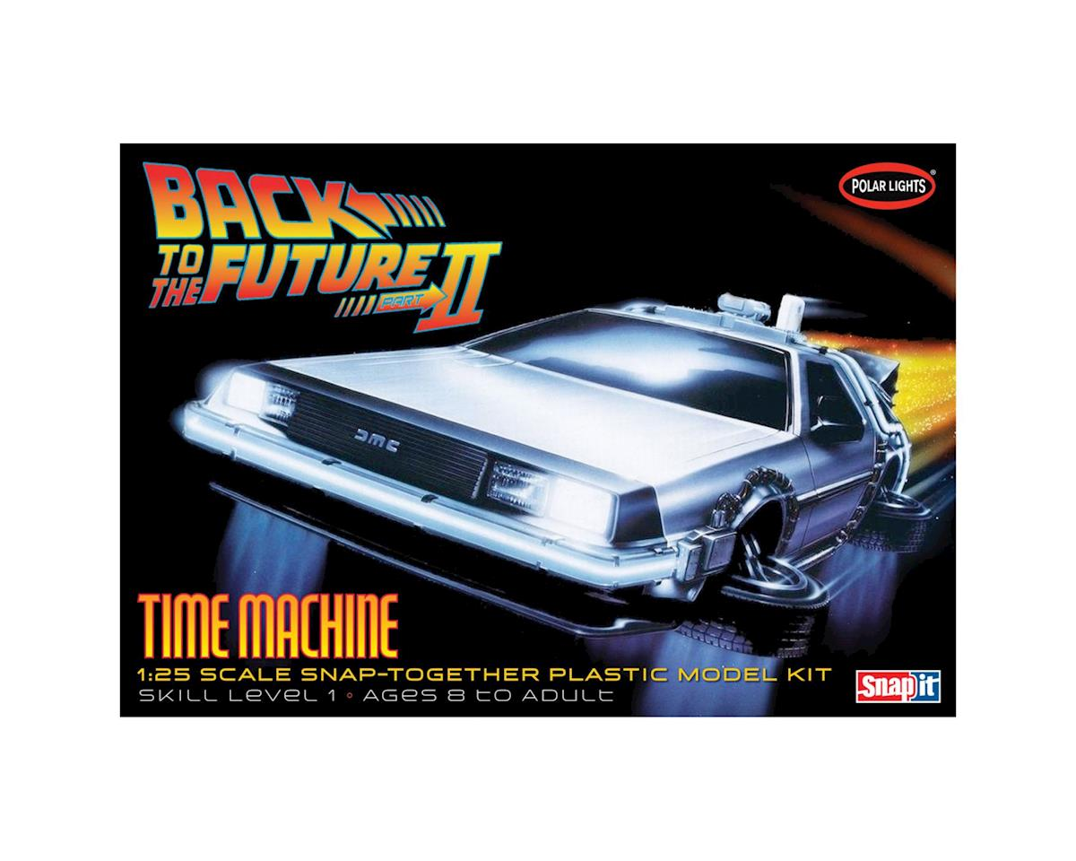 Round 2 Polar Lights 1/25 Back to the Future II Time Machine