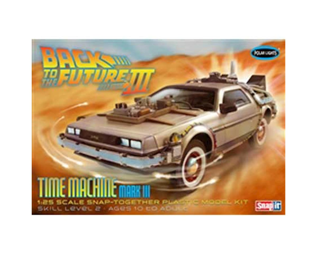 Round 2 Polar Lights 1/25 Back to the Future III Time Machine