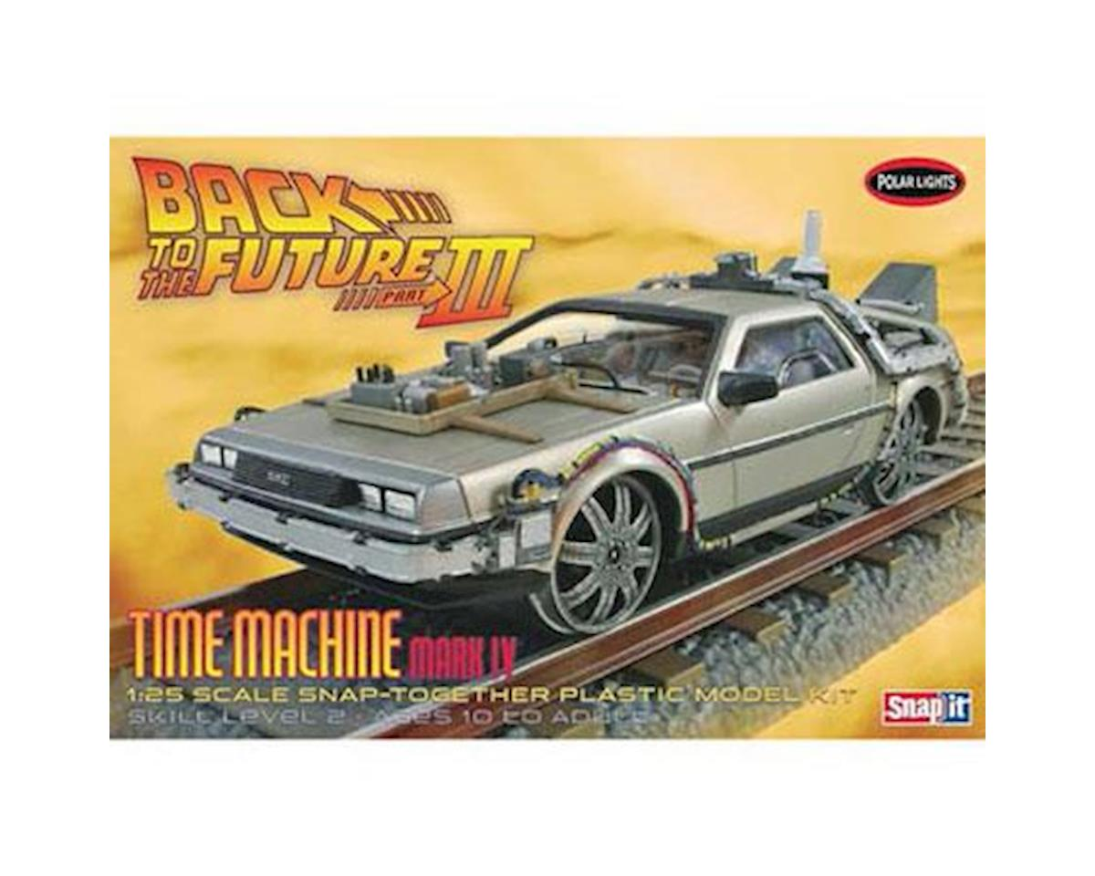 1/25 Back to Future III Final Act Time Machine by Round 2 Polar Lights