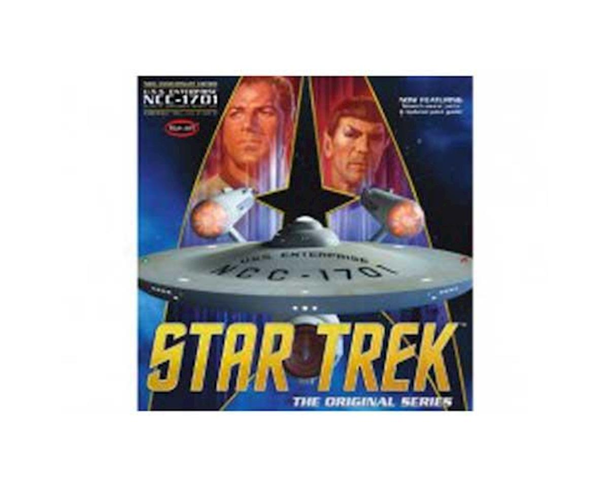 Star Trek TOS Enterprise 50th Anniversary Edition by Round 2 Polar Lights