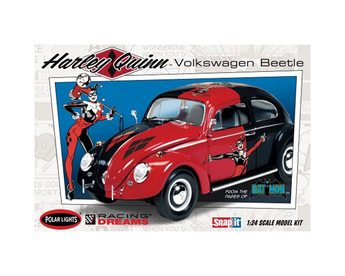 DC Comics Harley Quinn VW Beetle - Snap by Round 2 Polar Lights