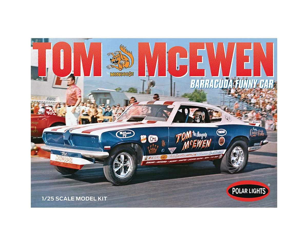 Round 2 Polar Lights 1969 Barracuda Funny Car, Tom Mongoose McEwen