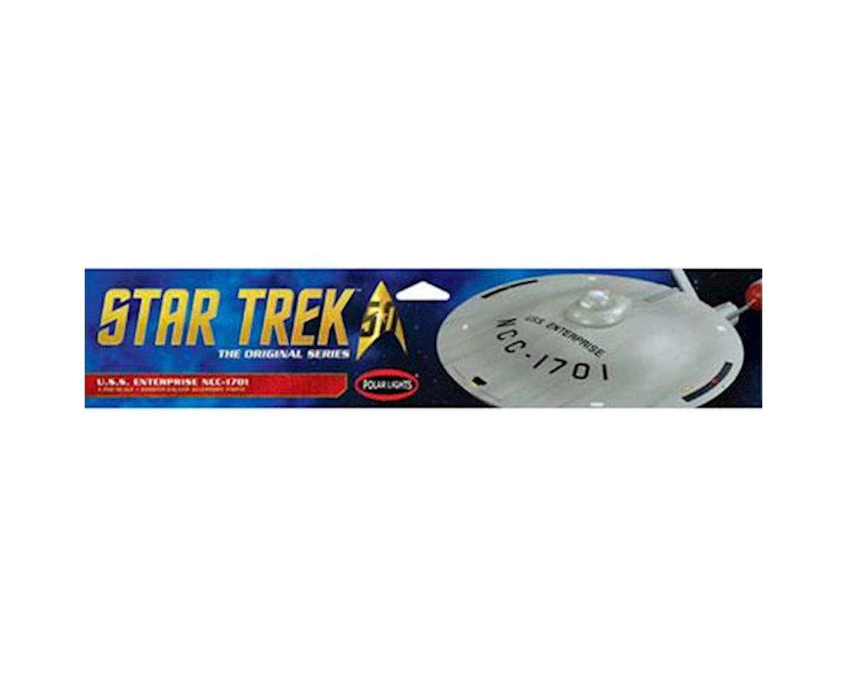 Star Trek TOS U.S.S. Enterprise Smooth Saucer by Round 2 Polar Lights