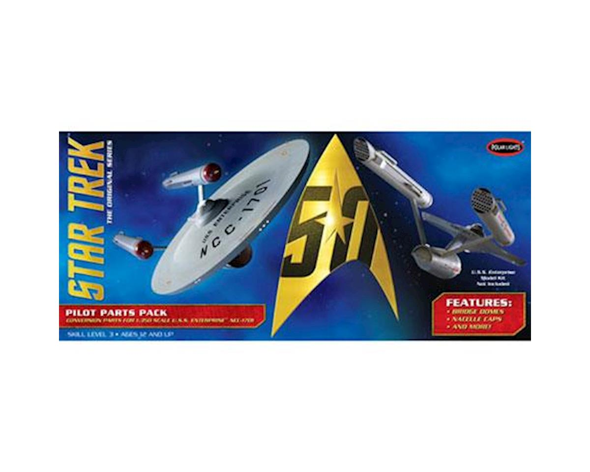 Star Trek TOS U.S.S. Enterprise Pilot Parts Pack by Round 2 Polar Lights