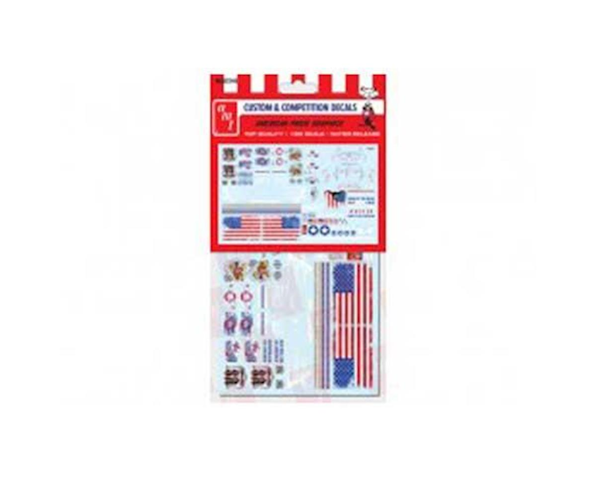 Round 2 Polar Lights 1/25 American Pride Graphics Decals