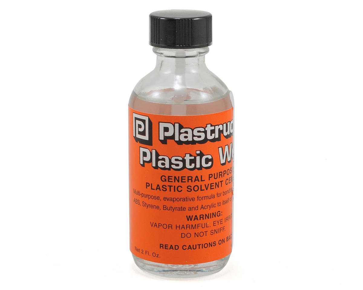 Plastic Weld Cement (2oz) by Plastruct