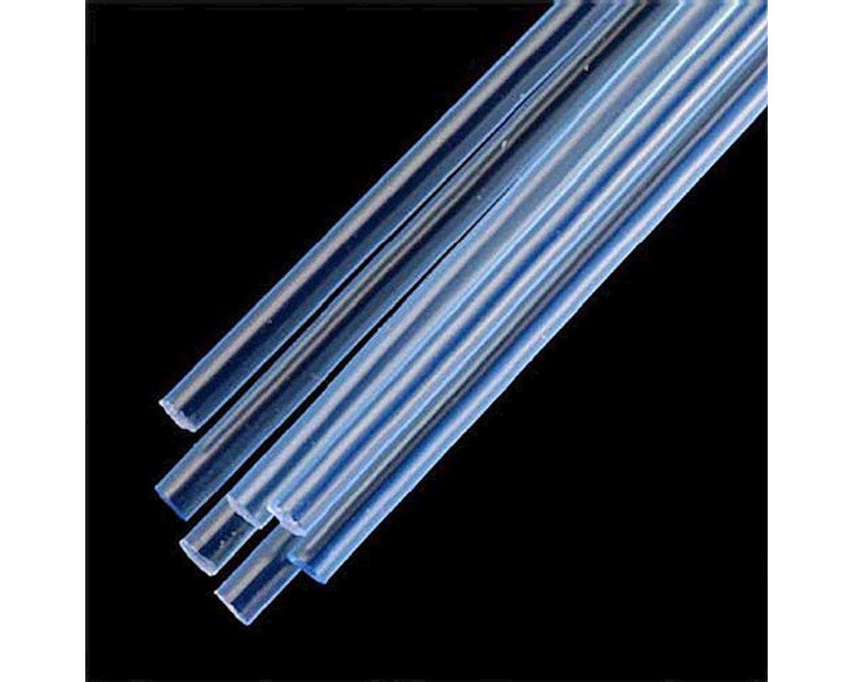 "90253 Rod Round Fluorescent Blue 1/8"" (7) by Plastruct"