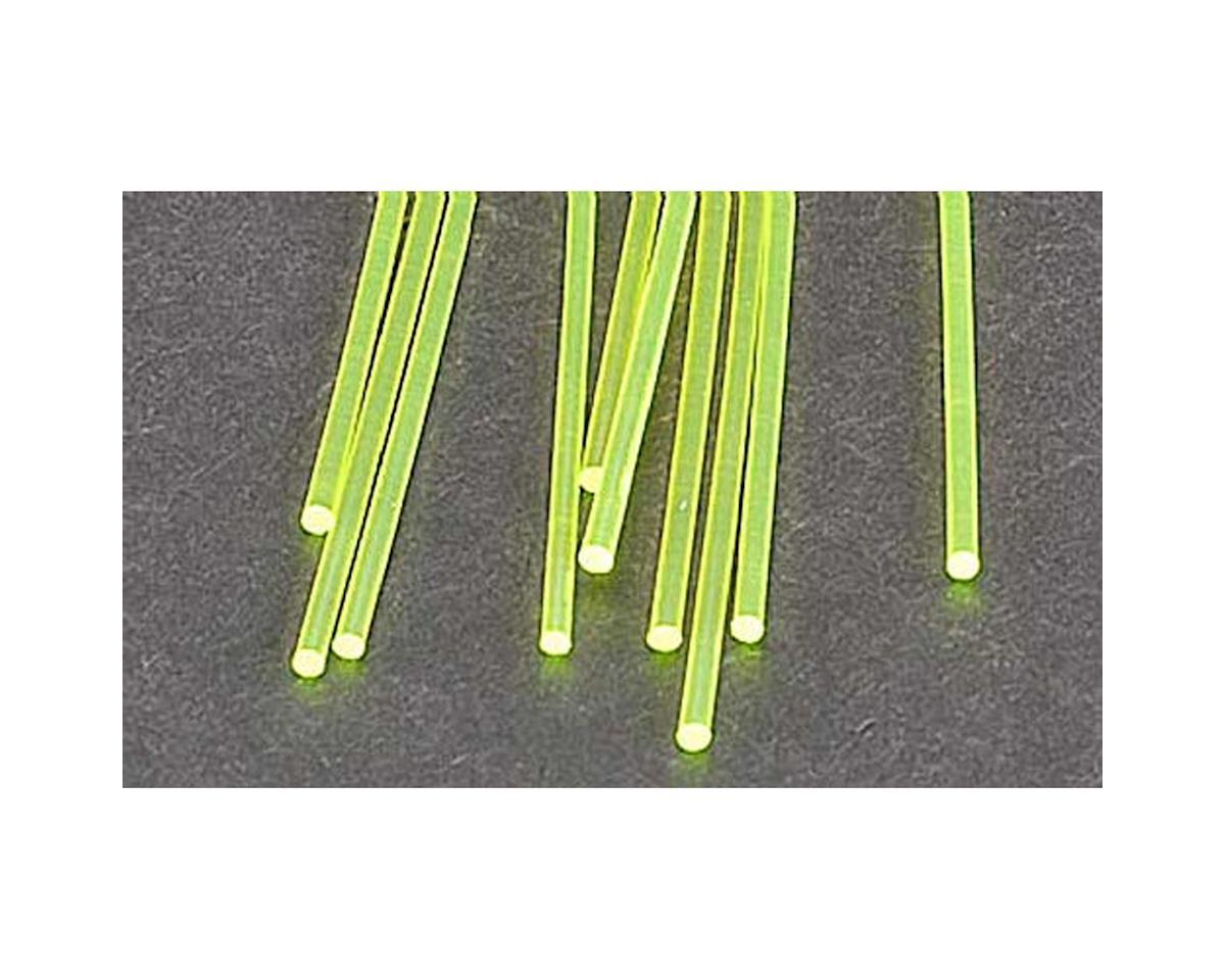 """Plastruct FARG-2H Fluor Grn Rod,1/16"""" (10)"""